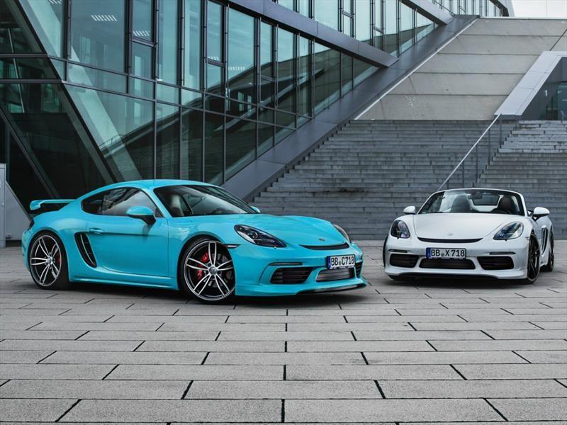 TechArt tuneó a los Porsche 718 Cayman S y Boxster S