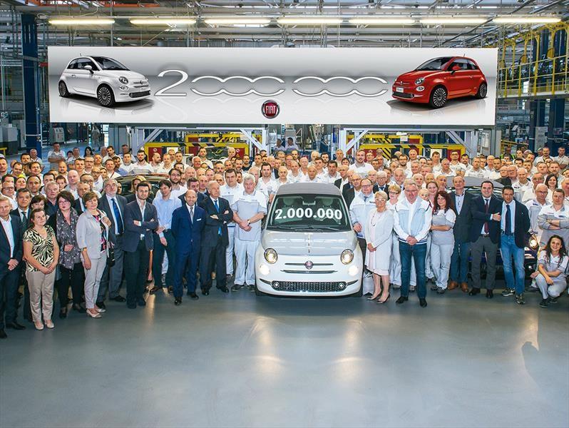 FIAT 500 alcanza dos millones de unidades producidas