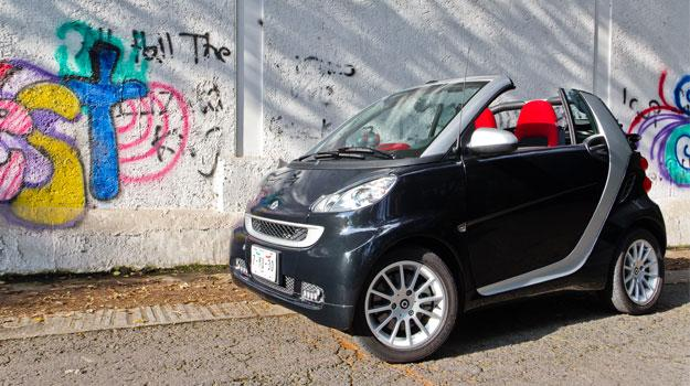 smart Fortwo cabrio 2012 a prueba