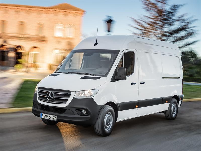 Mercedes-Benz Sprinter 2019, presenta su tercera generación