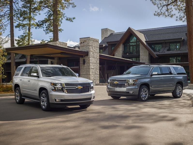 Chevrolet Suburban y Tahoe Premier Plus Special Edition ...