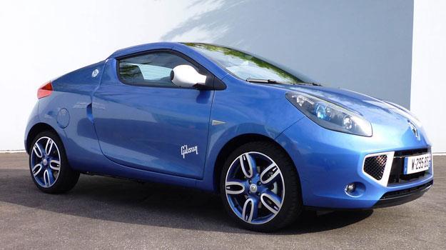 Renault Wind Gordini by Gibson, Rock sobre ruedas