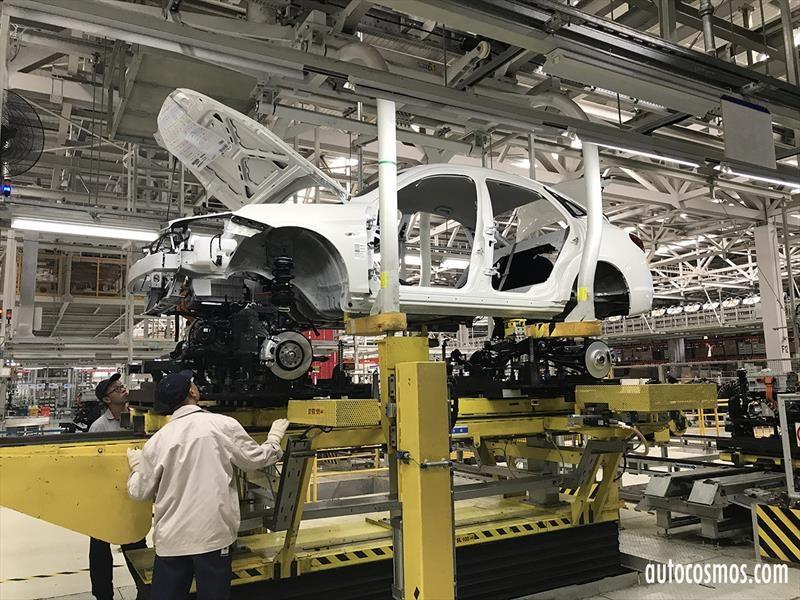 ¿Cómo es una planta de BAIC Motor en Beijing?