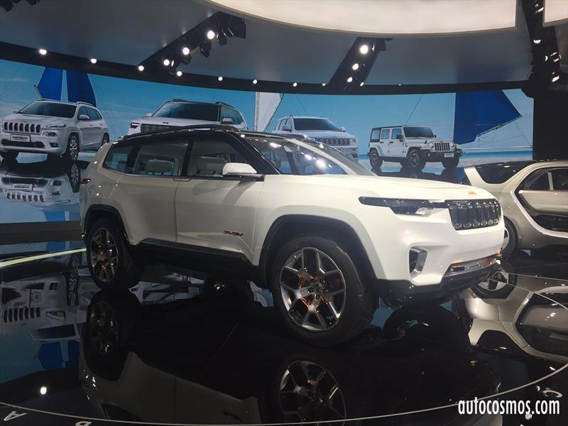 Jeep Yuntu Concept, se prepara para producción