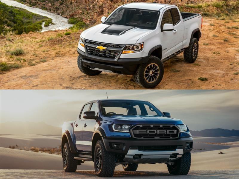 Ford Ranger Raptor Vs. Chevrolet Colorado ZR2 ¿cuál es mejor?