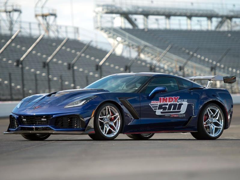 Chevrolet Corvette ZR1 2019 es el Pace Car de las 500 Millas de Indianapolis