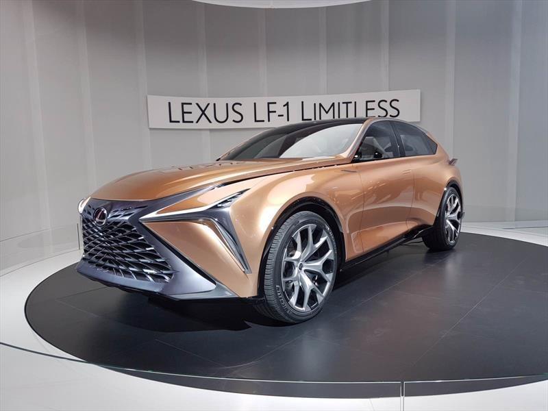 Lexus LF-1 Limitless Concept, una visión del futuro RX