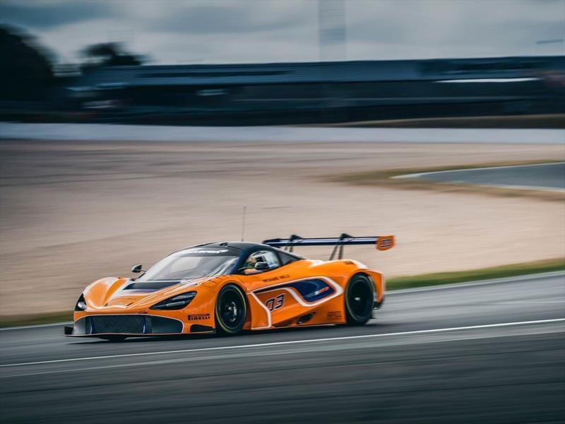 McLaren 720S GT3, listo para competir en las pistas