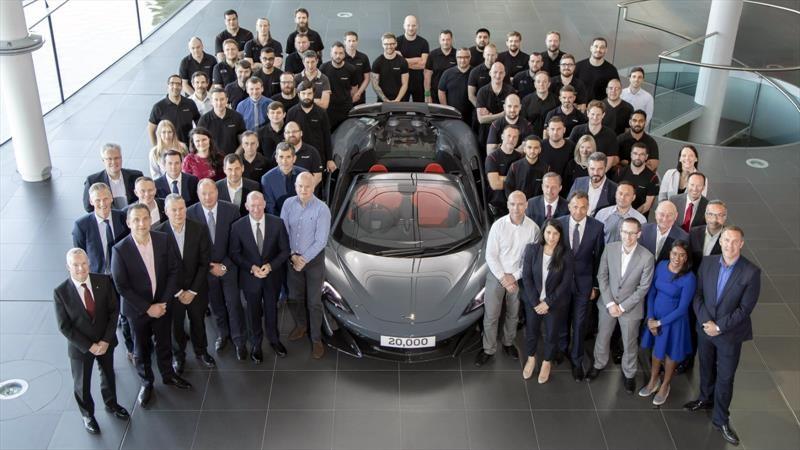En ocho años, McLaren Automotive alcanza 20,000 automóviles producidos