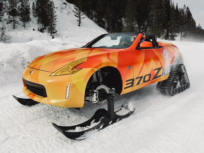 Nissan 370Zki es un abominable deportivo de las nieves