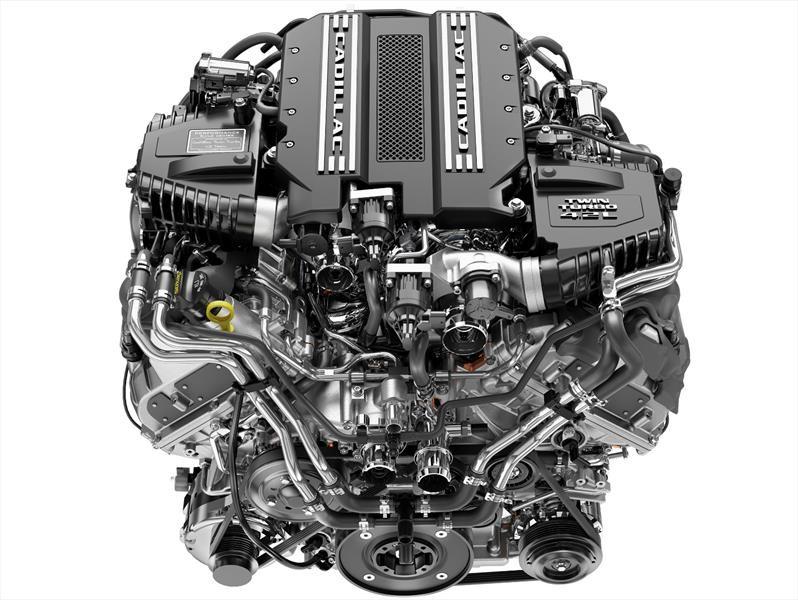 Cadillac devela su motor V8 twin-turbo