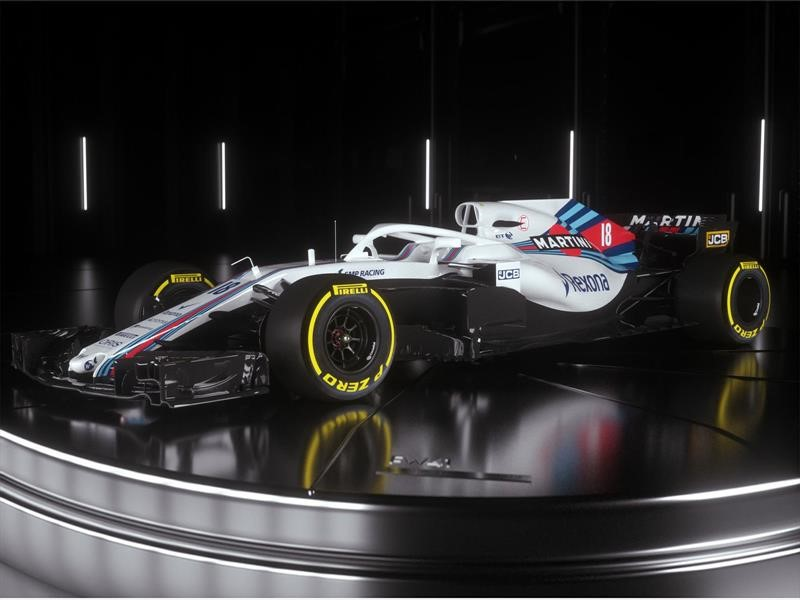 Williams FW41 se presenta