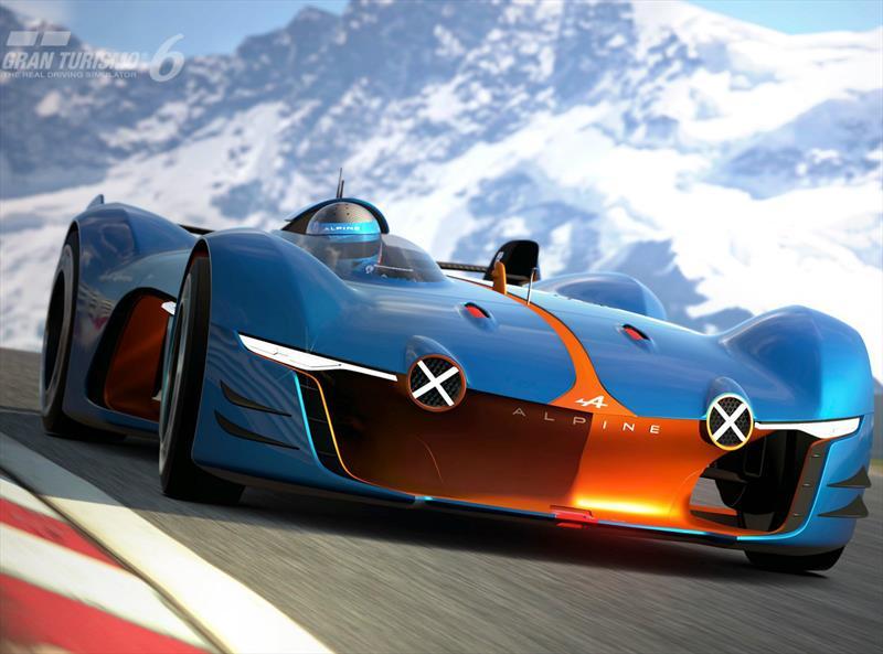 Renault Alpine Vision Gran Turismo se presenta