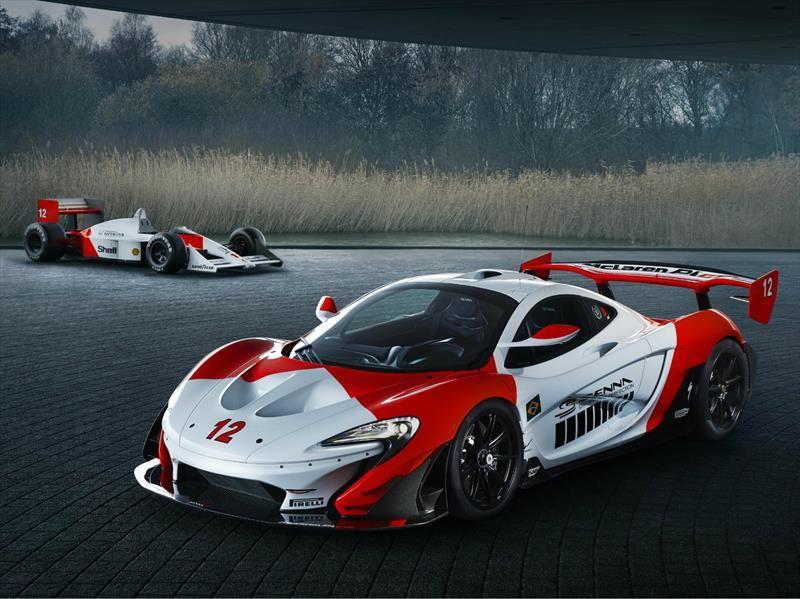 "McLaren P1 GTR ""Beco"" es más que un homenaje a Ayrton Senna"