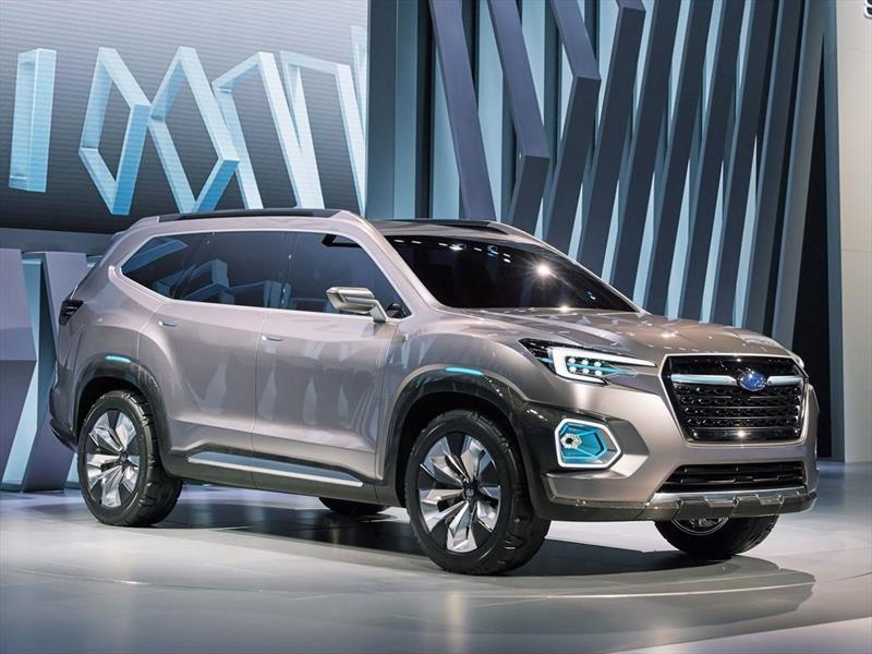 Auto Show De Los Angeles 2016 Subaru Viziv 7 Suv Concept Agresiva