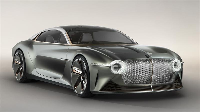 Bentley EXP 100 GT es un gran turismo eléctrico y autónomo, pero sobre todo lleno de lujo