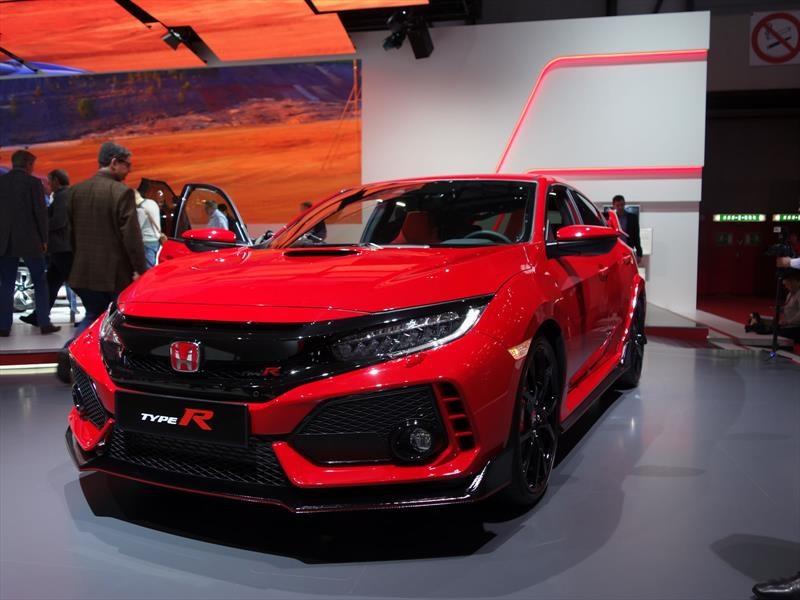 Auto Show De Ginebra 2017 Honda Civic Type R 2018 Por Fin Se