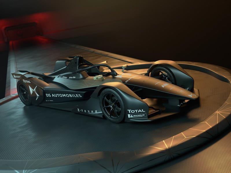 DS Automobiles muestra su bólido para la Fórmula E 2018-2019