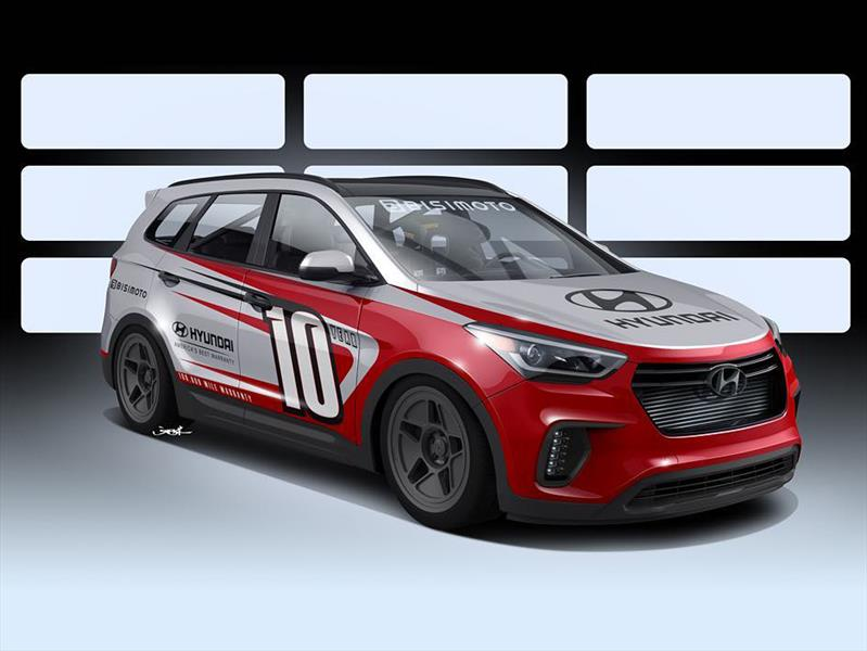 Santa Fast, el Hyundai Santa Fe de 1,000 hp de Bisimoto