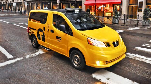 Nissan NV200 2014, el taxi del mañana debuta en el Salón Nueva York