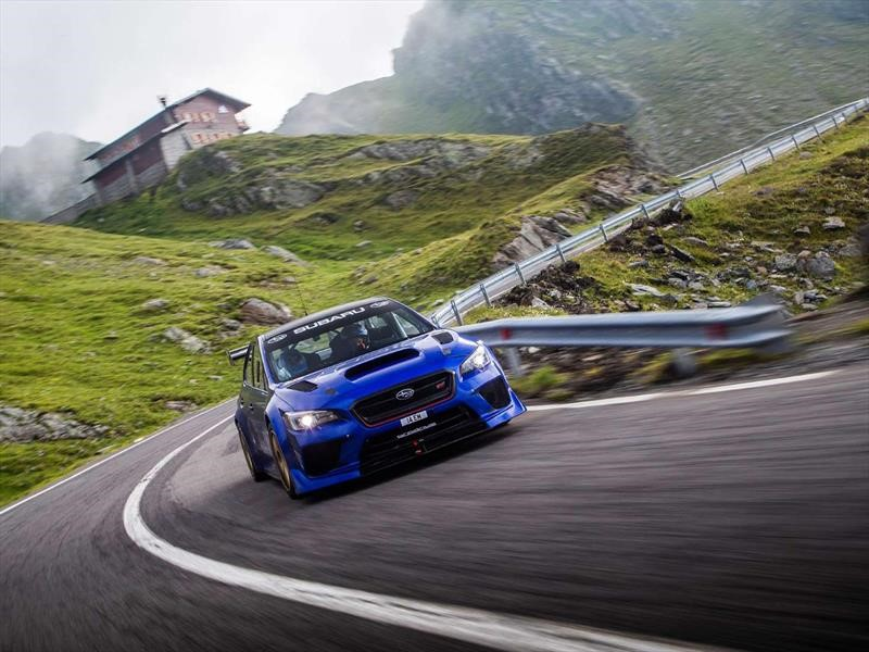 Subaru y Prodrive conquistan Transfăgărășan