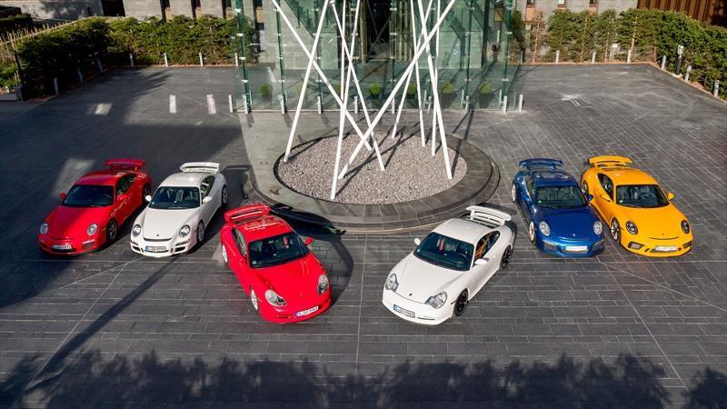 Porsche 911 celebra 20 años de las versiones GT3