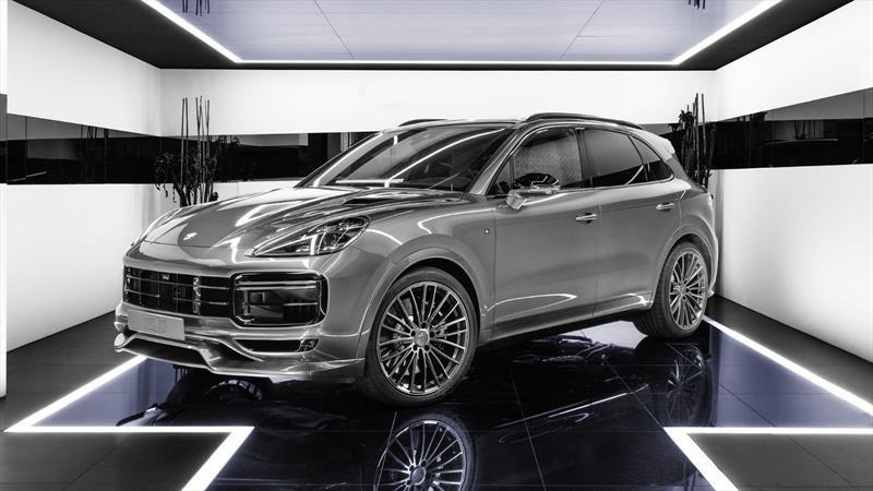TechArt perfecciona la aerodinámica y performance del Porsche Cayenne