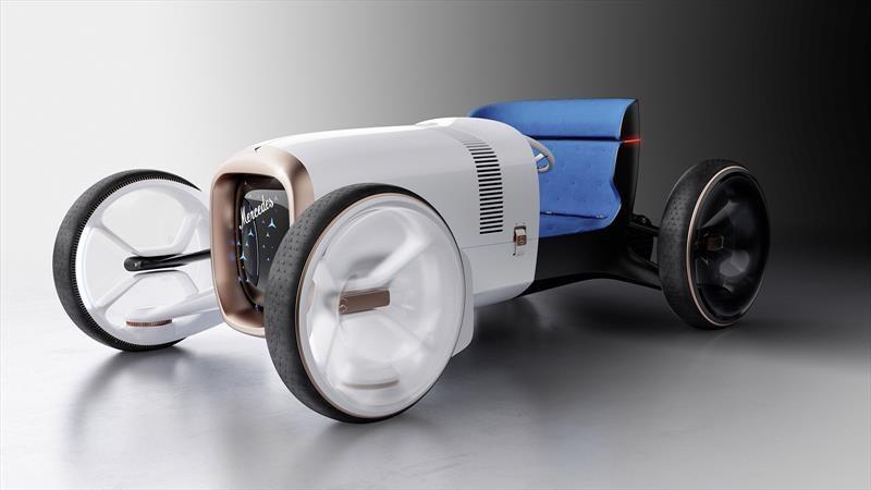 Vision Mercedes Simplex, un auto eléctrico que rinde homenaje al origen de Mercedes-Benz