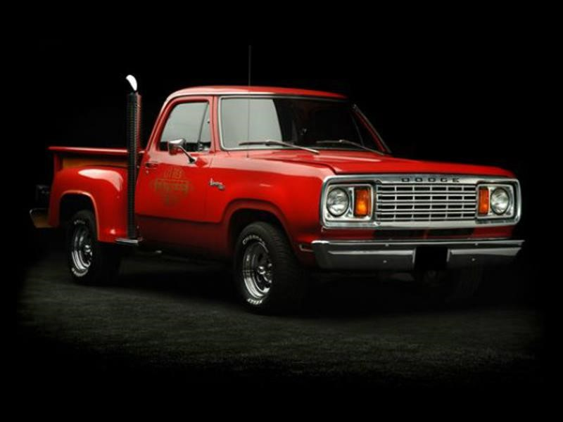 Los extraordinarios pickups de Dodge en los años 70