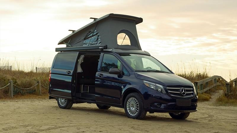 Mercedes-Benz Weekender retoma el concepto de los campers de antaño