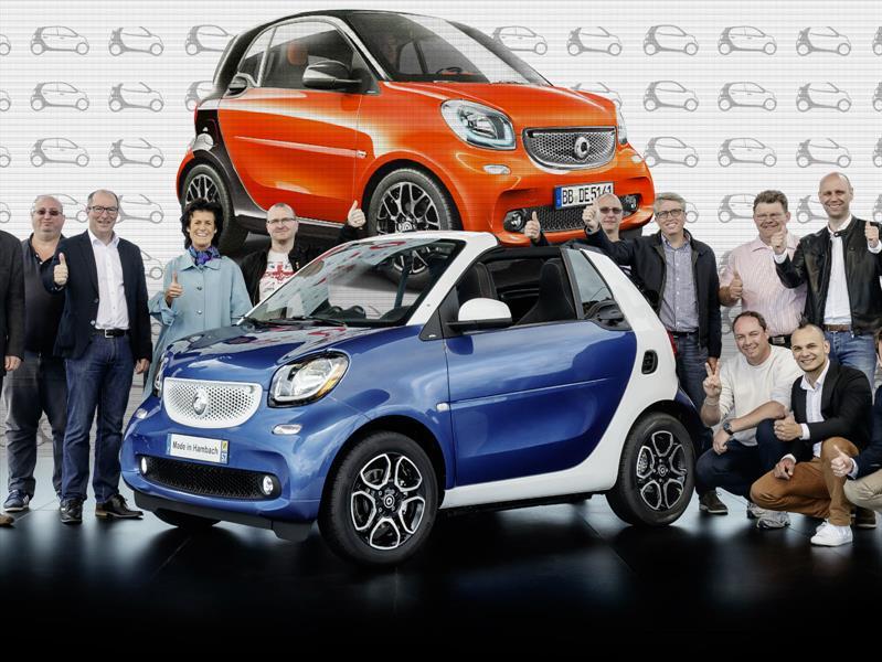 smart alcanza 2 millones de vehículos vendidos