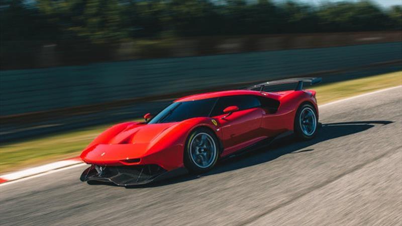 Ferrari P80/C es un súper auto que supera la exclusividad