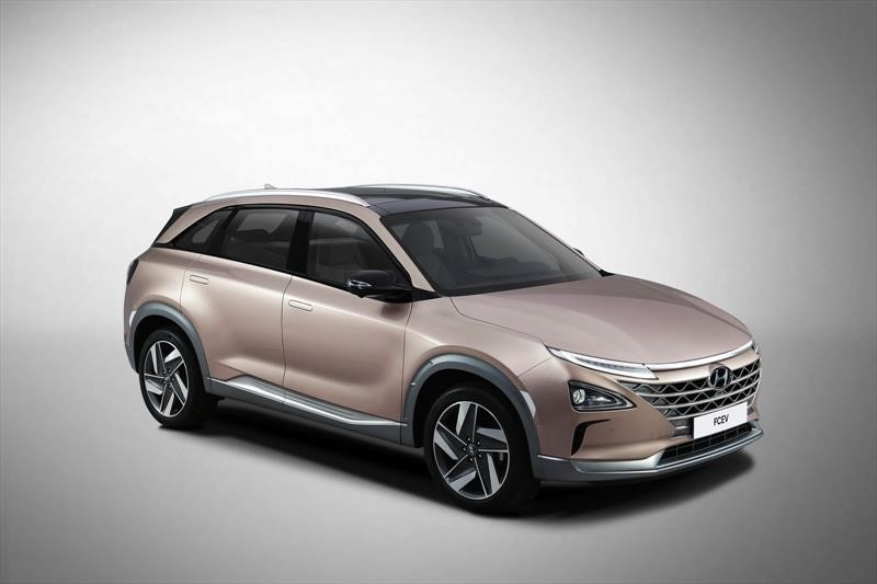 Hyundai FCEV es un SUV eléctrico de pila de combustible de hidrógeno