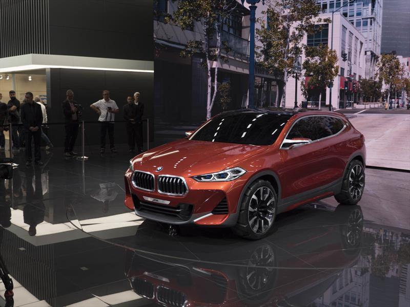 BMW X2 Concept, el hermano deportivo del X1 se presenta