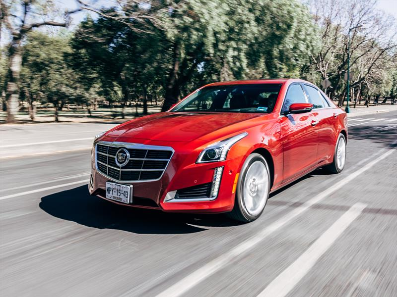 Test de Cadillac CTS 2014