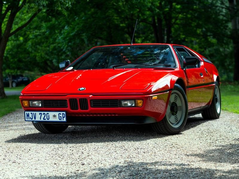 BMW M1, el auto que se adelantó a su época, cumple 40 años