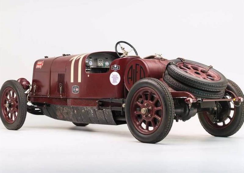 Subastan al primer Alfa Romeo de calle, el G1 de 1921