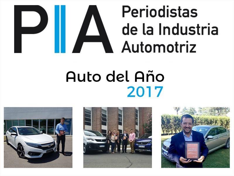 Se entregaron los premios PIA a los mejores autos de 2017
