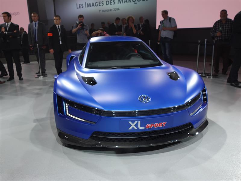 Salón de París 2014 - Volkswagen XL Sport Concept, con corazón ...