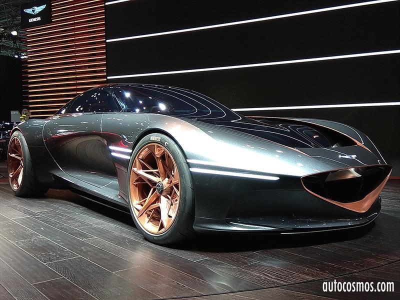 Genesis Essentia Concept, un súper auto que adelante el futuro