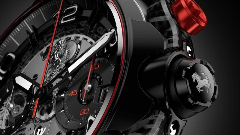 Classic Fusion Ferrari GT, el nuevo reloj de Hublot, es toda una pieza de colección
