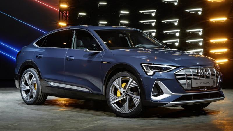 Audi e-tron Sportback 2020 es un SUV totalmente eléctrico con estilo coupé