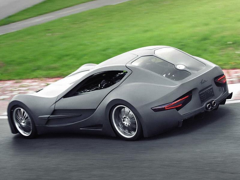 Felino Cb7 Es El Super Auto Más Feo Del Mundo