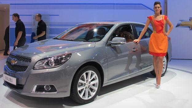 Chevrolet Malibu debuta en el Salón de Frankfurt 2011