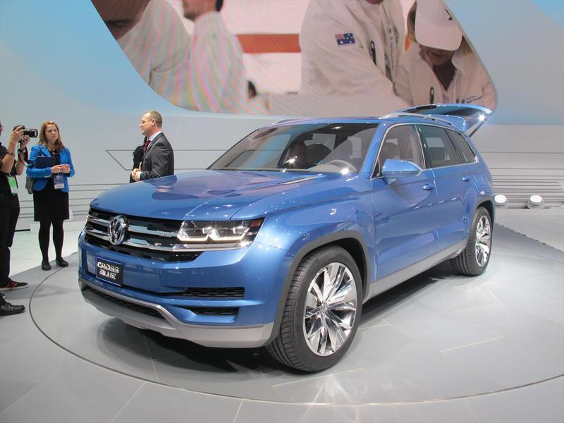 Volkswagen agranda sus ideas con el CrossBlue Concept