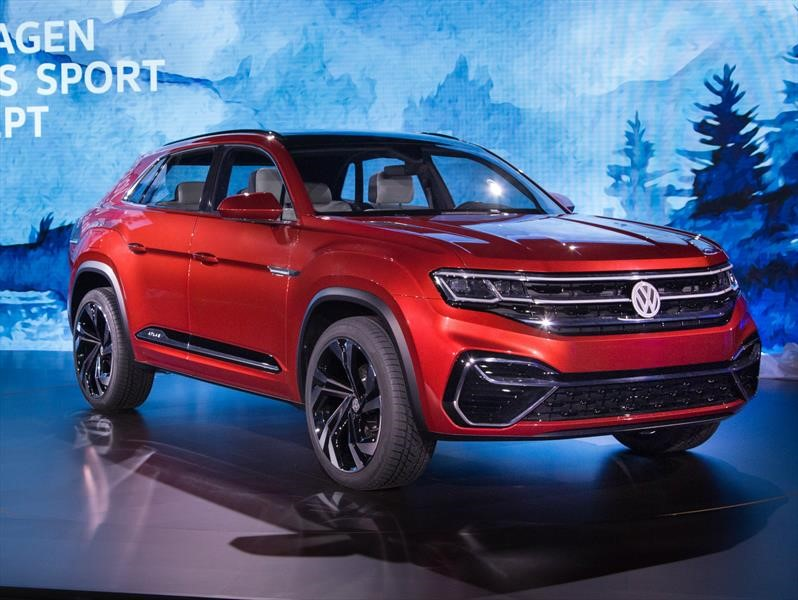Volkswagen Atlas Cross Sport Concept se presenta