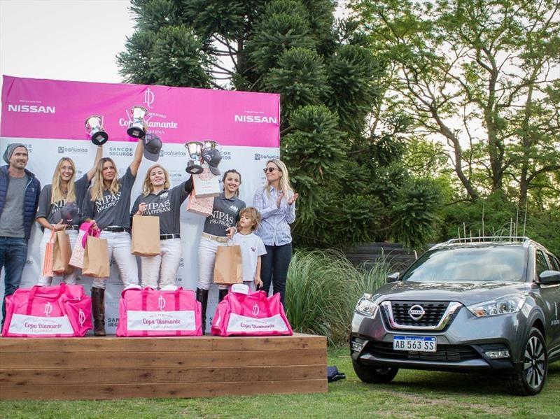 Nissan Kicks, presente en la Copa Diamante de polo femenino