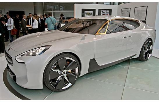 Kia GT Concept: Prototipo Sedán con aires de Coupé