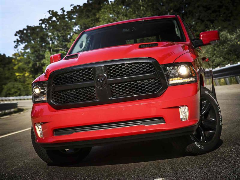 Ram 1500 Night Package 2017, tuning de serie