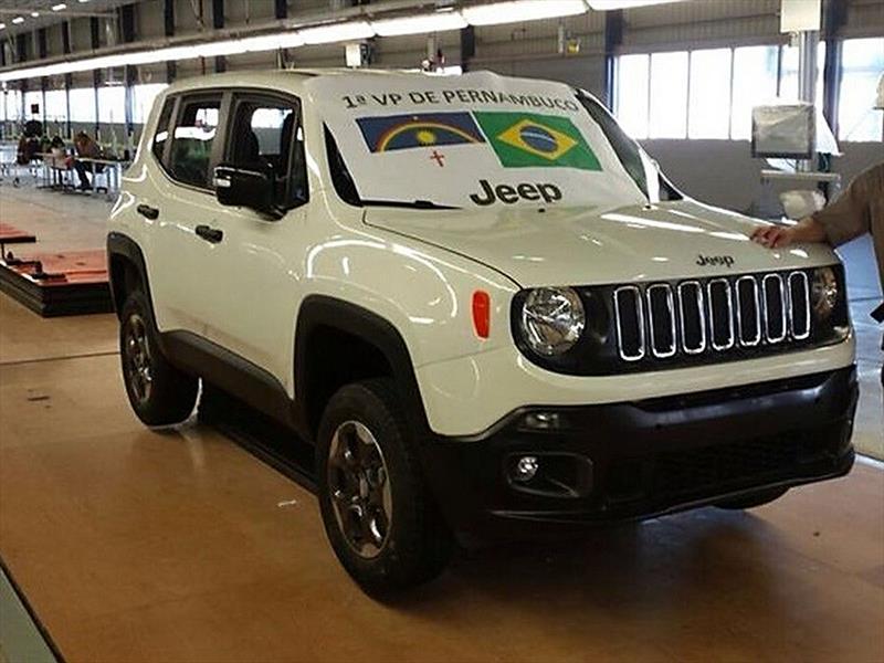 El Jeep Renegade inicia producción en Brasil